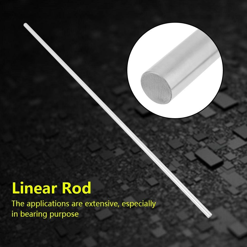 Guida lineare asta dritta rotonda cilindro in acciaio INOX asta 8/mm diametro 500/mm Lunghezza