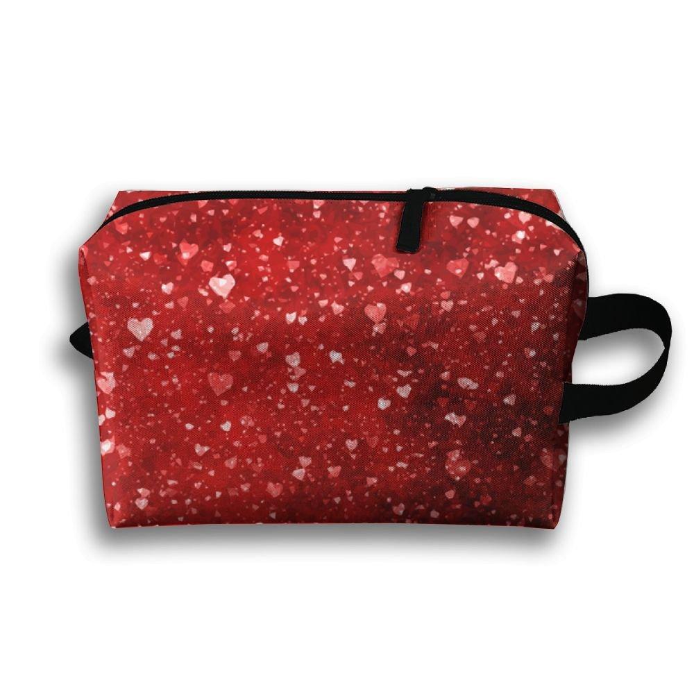 5316d32bbac2 best HOT Red Broken Love Halo Portable Travel Bag Female Travel ...
