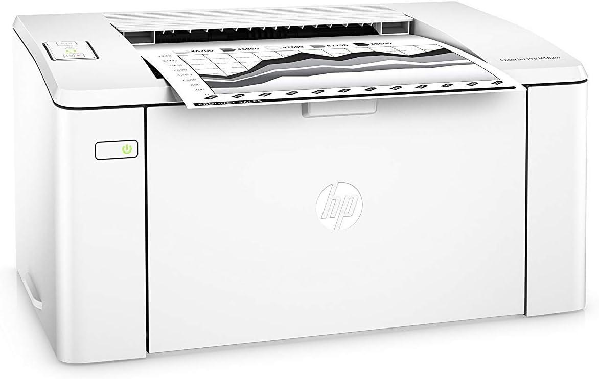 Hp Laserjet Pro M102w Laser Printer - Monochrome - 600 X 600 Dpi Print - Plain Paper Print - Deskto