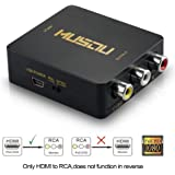 Musou Adattatore convertitore da HDMI a segnale AV CVBS RCA Audio video PAL+NTSC