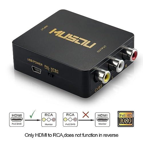 Adaptador HDMI RCA: Amazon.es