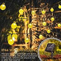 Donpow Guirnaldas Luces Exterior Solar, 8 modos 40 luces LED 25.8ft Jardín Globe Cristal exterior Luz Guirnalda Luminosa Impermeable Luces Decoración para Jardín Casa Bodas Jardine: Amazon.es: Iluminación