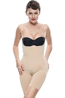 Franato Women s Shapewear Stomach and Thighs Slimmer Bodysuit Slimming Body  Shaper 2b4f8faeb