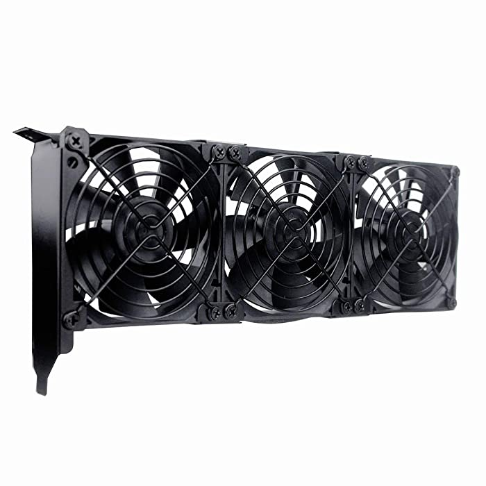 GDSTIME Graphic Card Fans, PCI Slot 3 x 90mm 92mm Fans, Graphics Card Cooler, Video Card Cooler, VGA Cooler