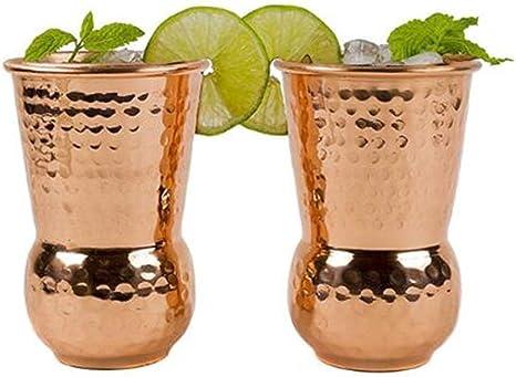 Vaso tradicional indio de acero inoxidable Muglai Matka ...
