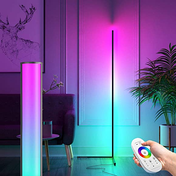 BERMOODA RGB Corner Floor Lamp