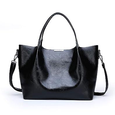 d8c927bf624b Amazon.com: NOTAG Women Shoulder Bags Leather Tote Handbags Large ...