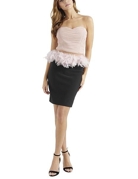 2e717da7b Vestidos de fiesta con plumas | vestidos de fiesta, de graduación ...