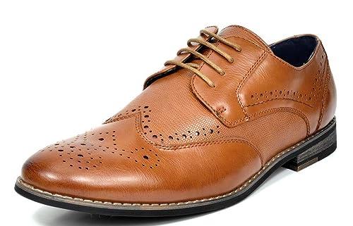 Amazon.com: Bruno Marc Oxfords - Zapatos de vestir para ...