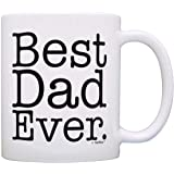 Father's Day Gift Best Dad Ever Birthday Gift New Dad Gift Coffee Mug Tea Cup White by ThisWear