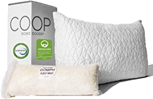 Coop Home Goods Hypoallergenic Cross Premium Adjustable Loft Pillow Review