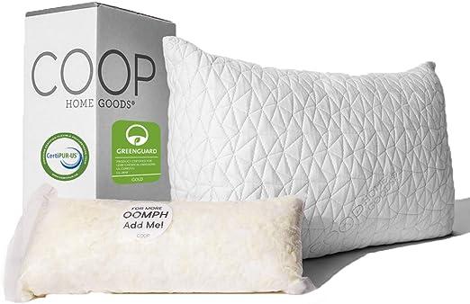 Amazon.com: Coop Home Goods   Premium Adjustable Loft Pillow