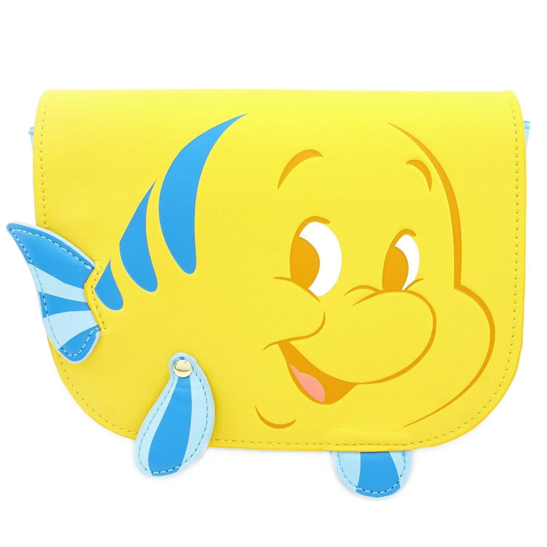 Loungefly The Little Mermiad Flounder Saffiano Fau