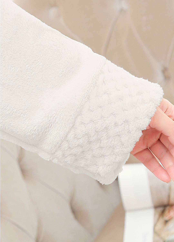 PUTUO Albornoz para Mujer Bata de Ba/ño Largo Albornoz Microfibra Mujer