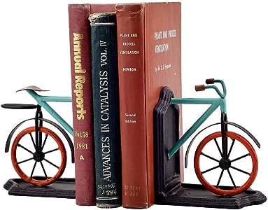 Zixin Sujetalibros Resina de Bicicletas de Escritorio