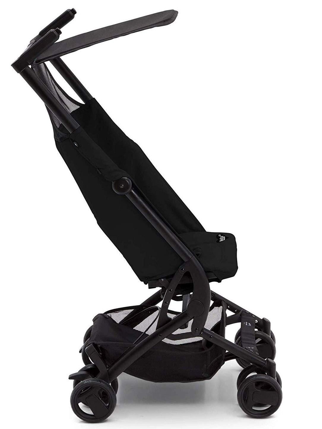 The Clutch Stroller by Delta Children - Lightweight Compact Folding Stroller - Includes Travel Bag - Fits Airplane Overhead Storage - Black by Delta Children (Image #6)