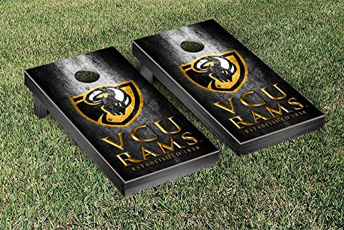 Victory Tailgate Virginia Commonwealth Univ. Rams VCU NCAA Cornhole Board Set - Museum (Includes Bags) by Victory Tailgate