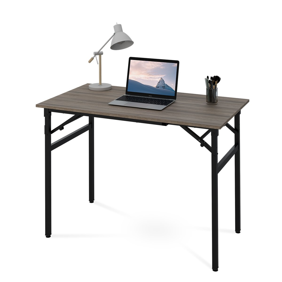 DEVAISE Folding Computer Desk, 42'' Office Table No Assembly Required