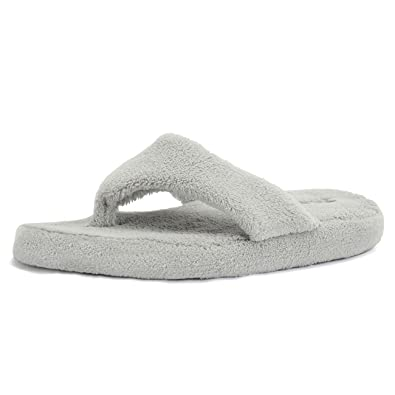 40df11a5a5e8 EQUICK Women Flip Flops Terry House Slippers Spa Thong Shoes Arch  Support