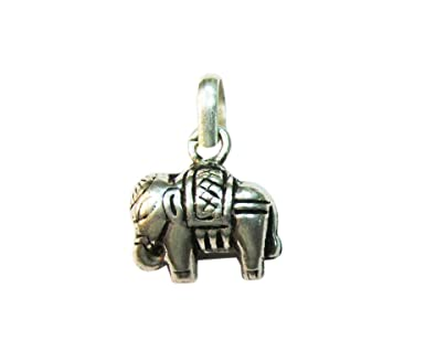 Buy vinayak lucky silver elephant pendant online at low prices in vinayak lucky silver elephant pendant mozeypictures Image collections