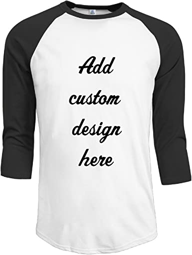 Amazon Com Design Your Own Personalized Custom Men Half Sleeve T Shirt Graphic And Text Design Clothing