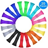 Fidget Toys (Pack of 20, 10 colors) by Austor - Relieve Stress, Increase Focus for Adults and Children, Sensory Marble and Mesh Fidgets Help with ADHD ADD OCD Autism