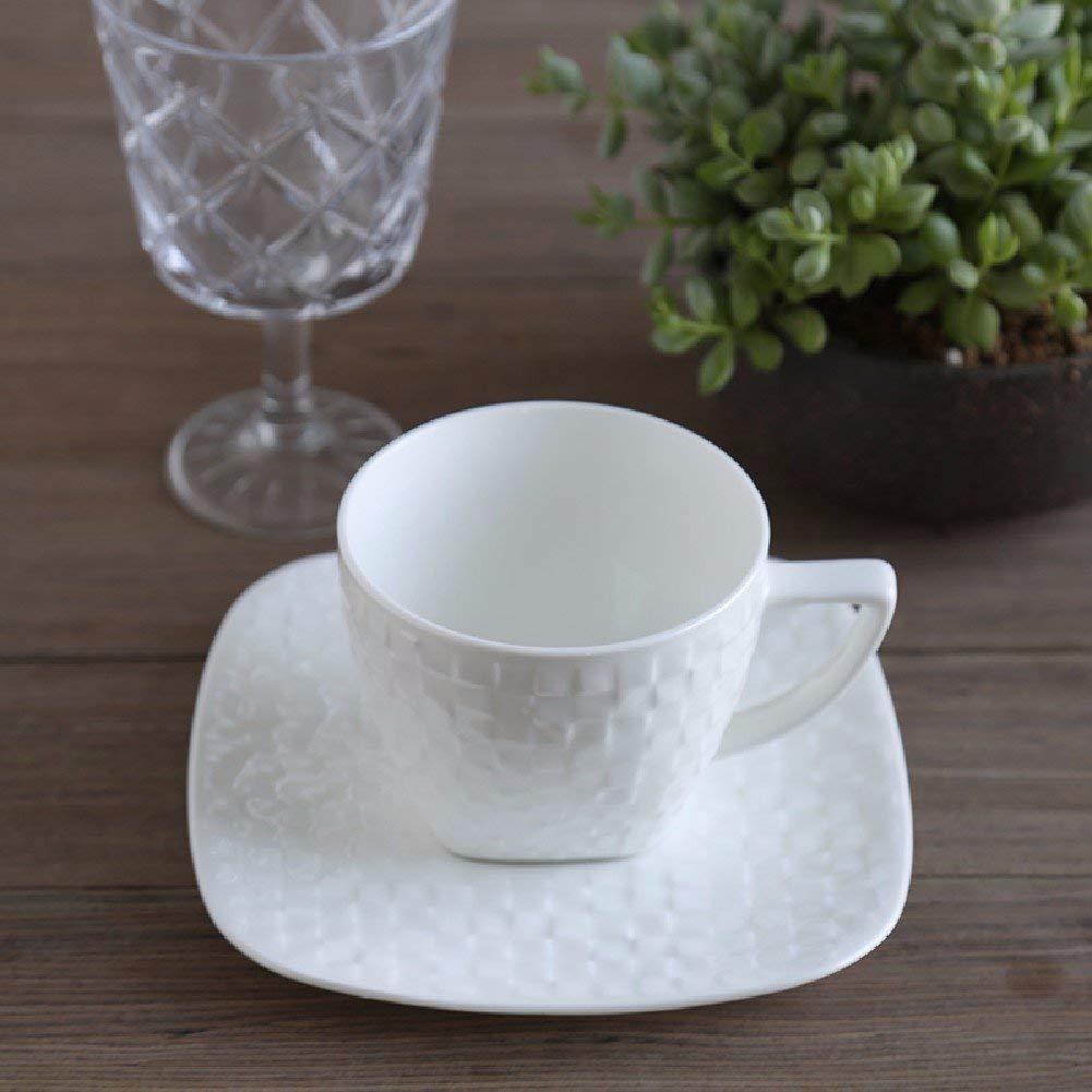 Kinue Exquisite Tea Cups Saucers Set Set Coffee Cup Bone China Coffee Cup European Simple Coffee Cup Set