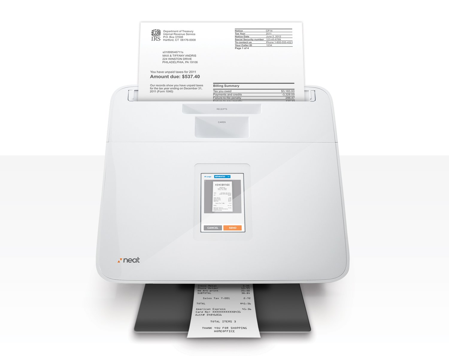 amazon com the neat company neatconnect scanner and digital filing