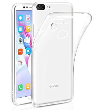 Coque Smartphone Honor Coque De Protection Transparente Grise Pour Honor 9 kVgawAbI