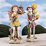 Design Toscano Fairies of the Meadow Garden Statues: Meadow Fairy and Meadow Pixie Review