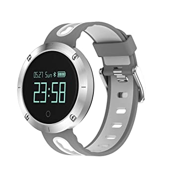 LENCISE Heart Rate Smart Watch IP68 Waterproof Blood Pressure Fitness Tracker Sports Watch Support IOS Android for Swimming: Amazon.es: Electrónica