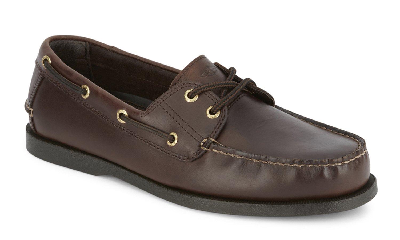 Dockers Men's Vargas Leather Handsewn Boat Shoe,Raisin, 11 M US by Dockers
