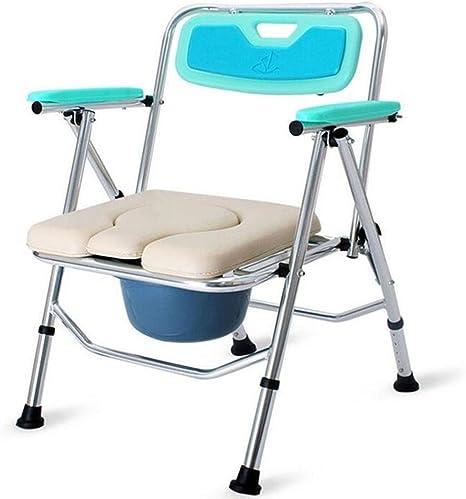 Pieghevole Comfort Sedia Wc Con Sedile Wc Portatile Imbottito Per