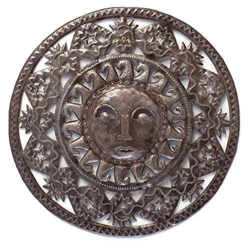 Winter Sun Sculpture Wall Metal Art 17' X -