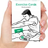 EXERCISE CARDS by WorkoutLabs: Premium Visual Bodyweight Flash Cards - #1 Bestselling Waterproof Fitness Flashcards for at Home Workouts without Equipment
