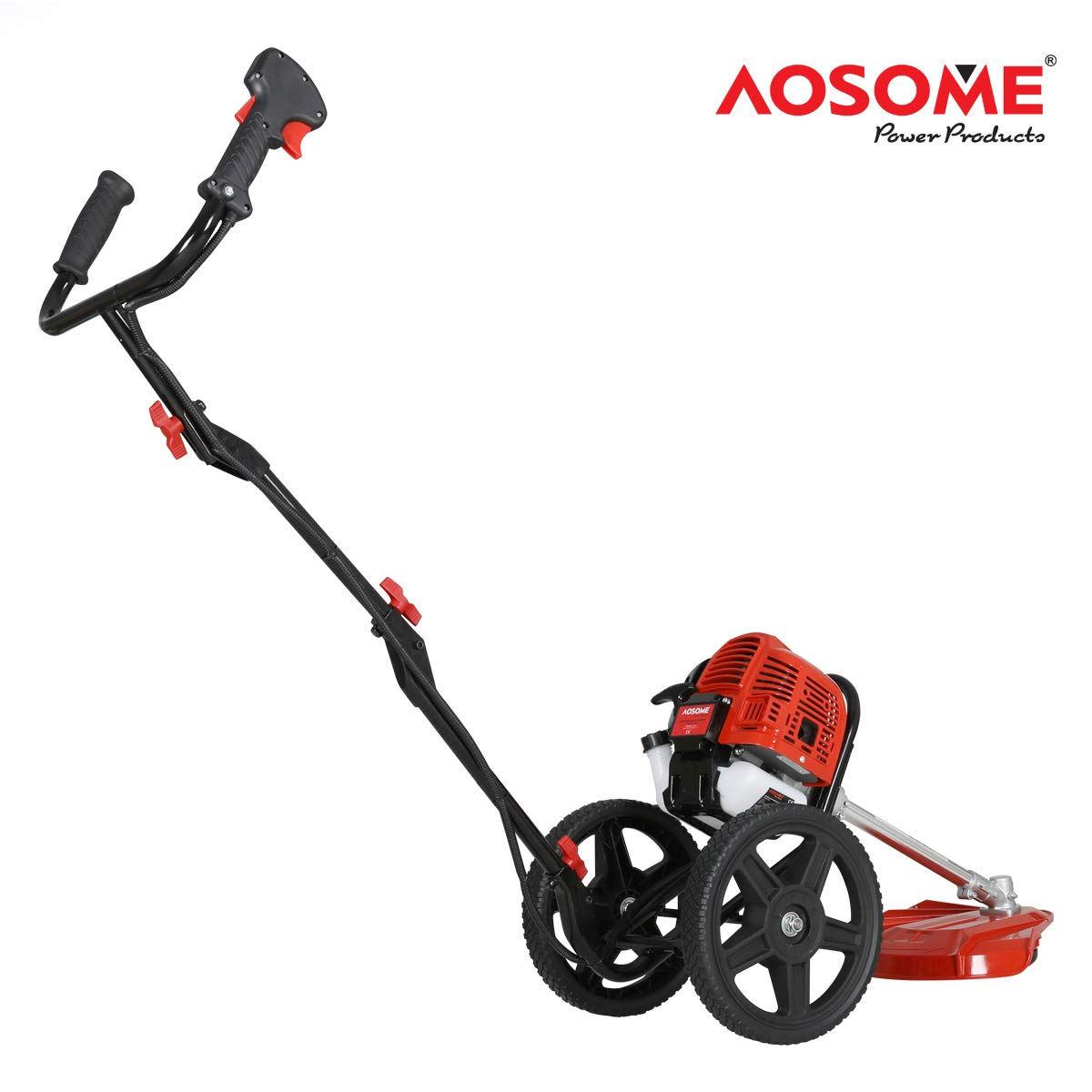 AOSOME - Cortador de césped de jardín con Ruedas (52 CC, 2 ...