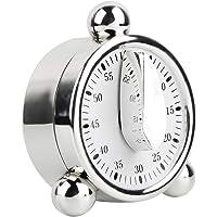 Queen.Y Temporizador Mecánico de Cocina Recordatorios de Cocina de 60 Minutos Reloj Despertador Temporizador de Cuenta…