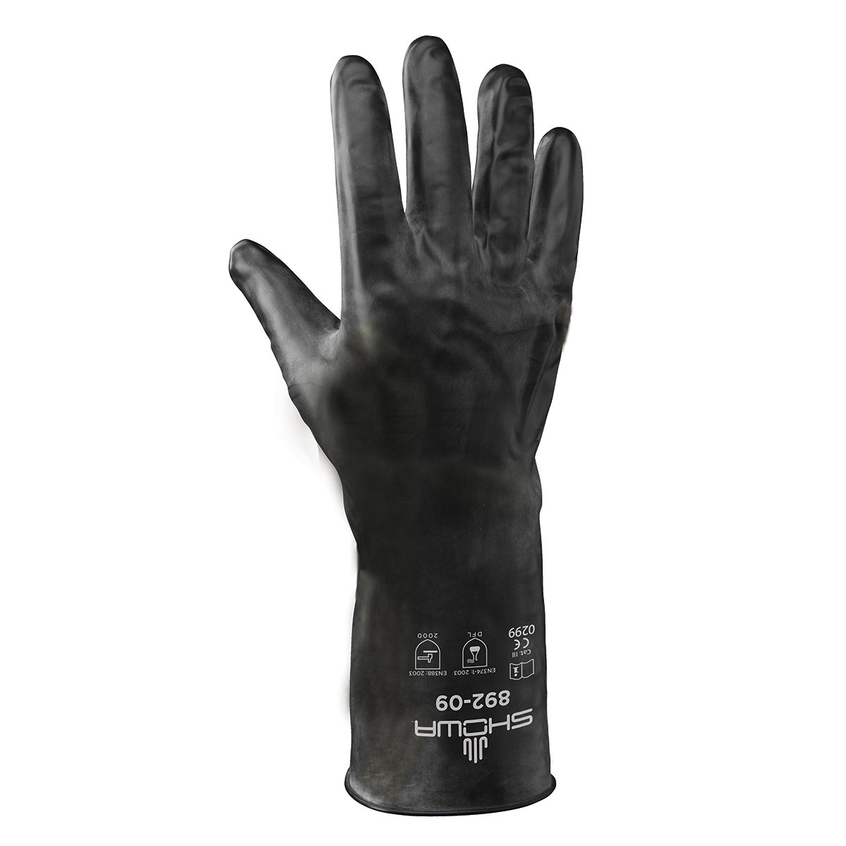 SHOWA 892 Unlined Viton Over Butyl Glove, XX-Large (1 Pair) by SHOWA (Image #1)