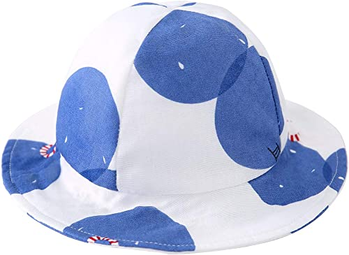 pureborn Baby Bucket Hat Infant Boys Girls Cotton Breathable Sun Hat