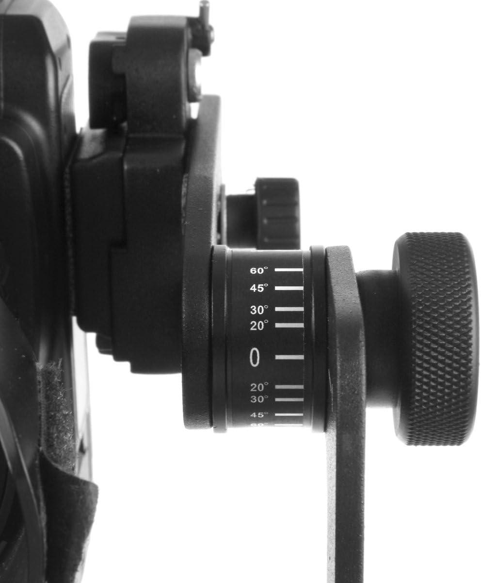Mantona PanoPoint Panorama Head with Nodal Point Adapter/ /Black.