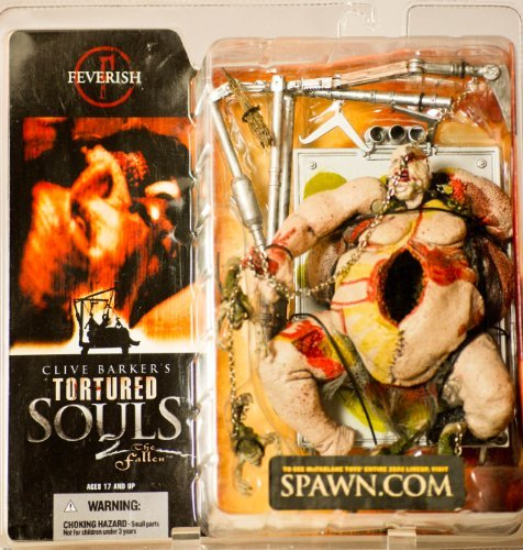 2002 - McFarlane Toys - Clive Barker's Tortured Souls 2 : The Fallen - Feverish Ultra Action Figure - Adult Horror Figure - New - Out of Production - Limited Edition - Collectible