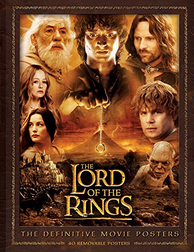 Red Poster Book (The Lord of the Rings: The Definitive Movie Posters (Insights Poster Collections))