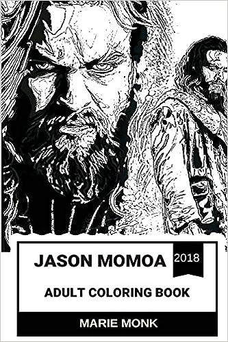 Jason Momoa Adult Coloring Book: Aquaman and Conan the
