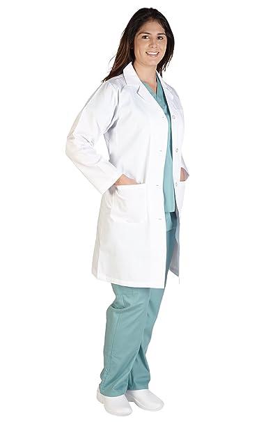 amazon com m m scrubs lab coat unisex 41 inch lab coat clothing