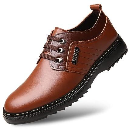 dc7aefa977a8 Amazon.com: Exing Men's Shoes, Spring/Fall Men's Leather Shoes Man ...