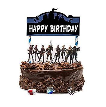 Amazon.com: Decoración para tartas de cumpleaños con diseño ...