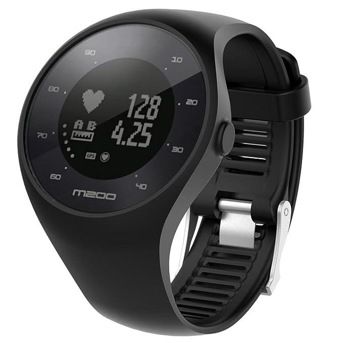 para Reloj Polar m200 Correas 6 Colores Bandas de reemplazo Suave Silicona Correas Pulsera para Polar M200 GPS Reloj smartwatch, Ancho de Banda 20MM ...