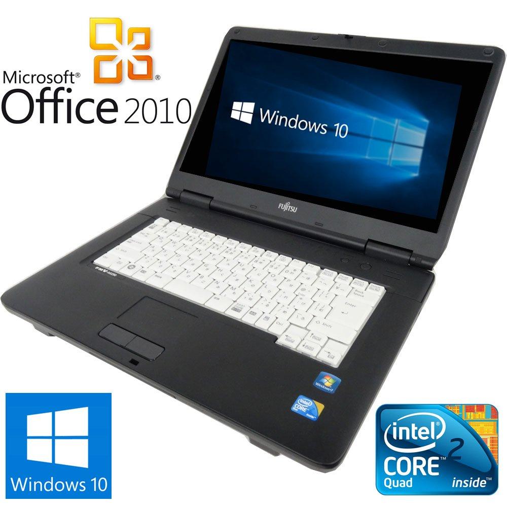 【Microsoft Office2010搭載】【Win 10搭載】富士通 A8280/新世代Core 2 Duo 2.53GHz/メモリ4GB/DVDドライブ/大画面15インチ/無線LAN搭載/中古ノートパソコン (ハードディスク 500GB) B01JRQ1F7O ハードディスク 160GB  ハードディスク 160GB, 虎姫町 c62606df