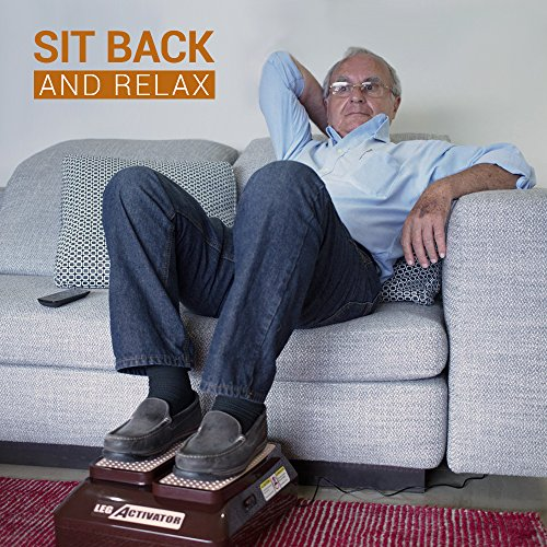 LegActivator - The Seated Leg Exerciser & Physiotherapy Machine for Seniors that Improves your Health and Blood Circulation while Sitting in the Comfort of your Home or Office by Silverfeat (Image #2)