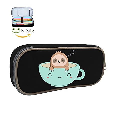 Amazon.com: Sloffee Sloth Coffee - Bolso de bolígrafo ...